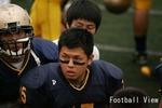 Griffins LB #15 Hiroyuki Inami
